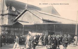 ¤¤   -   BREST   -   Le Marché Saint-Louis  -  Les Halles   -   ¤¤ - Brest