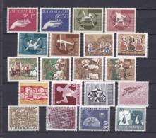 Jugoslawien - 1957/58 - Sammlung - Postfrisch - 36 Euro - 1945-1992 Socialist Federal Republic Of Yugoslavia