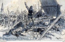 Illustrateur ROBIDA  Prise De La Bastille Des Augustins  6  Mai 1429 - Robida