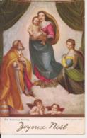 L100d127 - Joyeux Noël - The Madonna Sixtina - Raphaël Tuck And Son  - Oilette N°9269 - Christmas