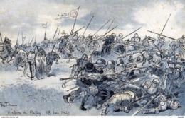 Illustrateur ROBIDA  Victoire De Patay 18 Juin 1429. - Robida