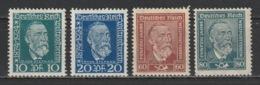 GERMANY - 1924-28 - ( Universal Postal Union, 50th Anniversary ) - MLH* - Unused Stamps