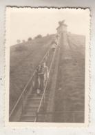 Waterloo - La Butte - Animé - Photo 6 X 8.5 Cm - Lieux