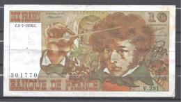 France 10 Francs Berlioz 1-7-1976 - 1962-1997 ''Francs''