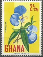Ghana - 1967 Commelina 2-1/2np MNH **    Sc 289 - Ghana (1957-...)