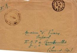"""L- Cachet: """" Troupes D'Occupation -Tête De Pont De KEHL """"-  T Et P*250*- - Marcophilie (Lettres)"""