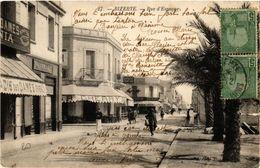 CPA TUNISIE BIZERTE-Rue D'Espagne (238902) - Tunisie