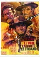 Réf. 491/ 1 CPM - Carte Postale Cinéma - Le Bon, La Brute Et Le Truand Sergio Léone Clint Eastwood - Manifesti Su Carta