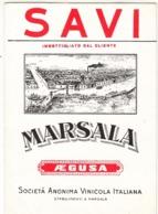 ETICHETTA LABEL VINO MARSALA SAVI - Labels