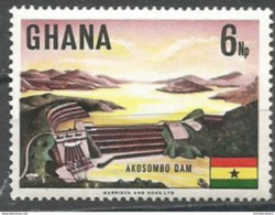 Ghana - 1967 Akosombo Dam 6np MNH **    Sc 292 - Ghana (1957-...)