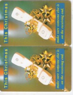Namibia, NMB-038, Christmas Card, 2 Scans.   2 Different Sizes CN - Namibie