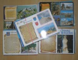 Lot De 500 Cartes Postales  PARCHEMINS - Postkaarten
