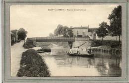 CPA - PAGNY-sur-MEUSE (55) - Aspect Des 2 Chemins De Hallage Reliés Par Le Pont De Fer Sur Le Canal En 1905 - France
