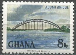 Ghana - 1967 Adomi Bridge 8np MNH **    Sc 293 - Ghana (1957-...)