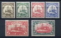44388) DT. KOLONIEN Kamerun # 20-25 Gefalzt Aus 1905, 50.- € - Colonia: Camerun