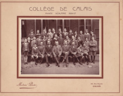 CALAIS.(62) Photo De Classe : Collège De Garçons De Calais . Année 1926-1927. 3 E Classe. 27 Cm X 21 Cm - Lugares