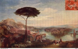 Illustrateur J.M.W TURNER   CHILDE HAROLD'S PILGRIMAGE   Editeur: Raphael TUCK      2 Scans  TBE - Altre Illustrazioni