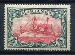 44396) DT. KOLONIEN Marianen # 21 Gefalzt Aus 1916, 35.- € - Colony: Mariana Islands