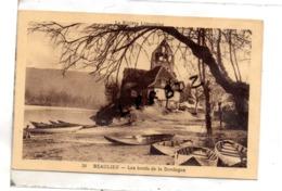 CPA - 19 - BEAULIEU SUR DORDOGNE - Les Bords De La Dordogne - Eglise - Pas Courante - France