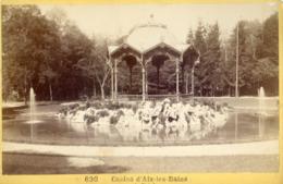1417..Casino D'Aix Les Bains. Photo Sur Carton - Aix Les Bains