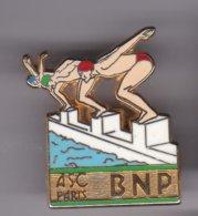 Pin's NATATION   ASC PARIS BNP SIGNE BALLARD - Associations