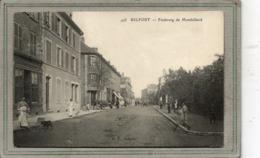 CPA - BELFORT (90) - Aspect De L'entrée De La Ville Par Le Faubourg De Montbéliard En 1911 - Belfort - Ville