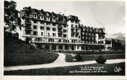 74 .20208 .combloux .hotel P L M .les Terrasses Vues Du Parc . - Combloux