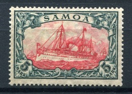 44403) DT. KOLONIEN Samoa # 23 B Gefalzt Aus 1915, 35.- € - Colony: Samoa
