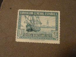 ESPAGNE 1929 EXPOS BARCELONE Neuf**D 14 - Ungebraucht