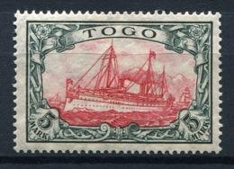 44406) DT. KOLONIEN Togo # 23 Gefalzt Aus 1909, 28.- € - Colonia: Togo