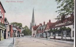 AP05 High Street, Solihull - 1905 W Bromwich Duplex Postmark, Malt Shovel Hotel - Altri