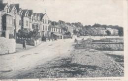 AP05 Promenade, Arnside - 1904 Postcard, Local Publisher - Cumberland/ Westmorland