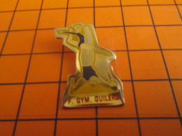 419 Pins Pin's  / Rare & Belle Qualité / THEME SPORTS / GYMNASTIQUE CLUB GUILERS - Gymnastiek