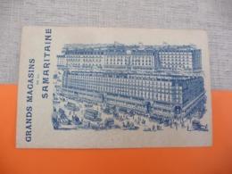 GRANDS MAGASINS DE LA SAMARITAINE - Cafés, Hotels, Restaurants