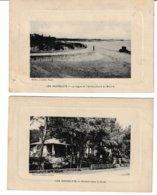 Loire Atlantique Saint Brévin Les Rochelets: 2 Cartes: Chalets Dans La Forêt. La Digue Et L'embouchure Du Boivre - Autres Communes