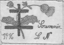 Brodée  Souvenir 1916 - Oorlog 1914-18