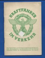Livret KRAFTFAHRER IM VERKEHR - Documenti