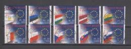 COB 3293 / 3302 Oblitération Centrale Drapeau Flag - Used Stamps