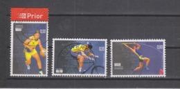 COB 3303 / 3305 Oblitération Centrale Sport Basket Cyclisme Perche - Belgium