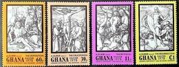 # Ghana 1978**Mi.767-70 Painting - Albrecht Dürer ,MNH [23;64] - Art