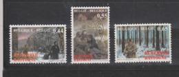 COB 3329 / 3331 Oblitération Centrale La Bataille Des Ardennes - Belgium