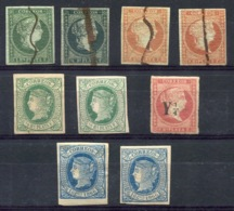 RC 14280 ANTILLES ESPAGNOLES LOT NEUF ET ANNULÉS TB - Cuba (1874-1898)
