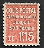 COLIS Postaux  1939  - YT  164  - Nsg - Colis Postaux