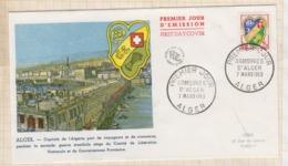 9/540 Premier Jour FDC 1959 ALGER - 1950-1959