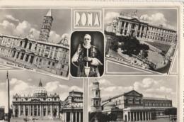 Cartolina - Postcard / Viaggiata - Sent/   Roma, Saluti Da Roma.  ( Gran Formato ) Anni 50° - San Pietro