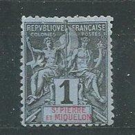 SAINT-PIERRE-ET-MIQUELON  N° 59  *  TB - St.Pierre & Miquelon