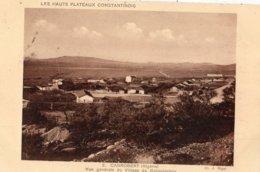 ALGERIE CANROBERT VUE GENERALE DU VILLAGE DE COLONISATION - Autres Villes