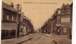 LEZENNES  Rue Léon GAMBETTA - Altri Comuni