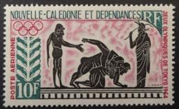 Nouvelle-Calédonie: Yvert N° PA 76 (Jeux Olympiques De Tokyo, 1964) Neuf ** - Luftpost