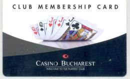 ROMANIA KEY CASINO   Casino Bucharest  - Club Membership Card - Cartes De Casino